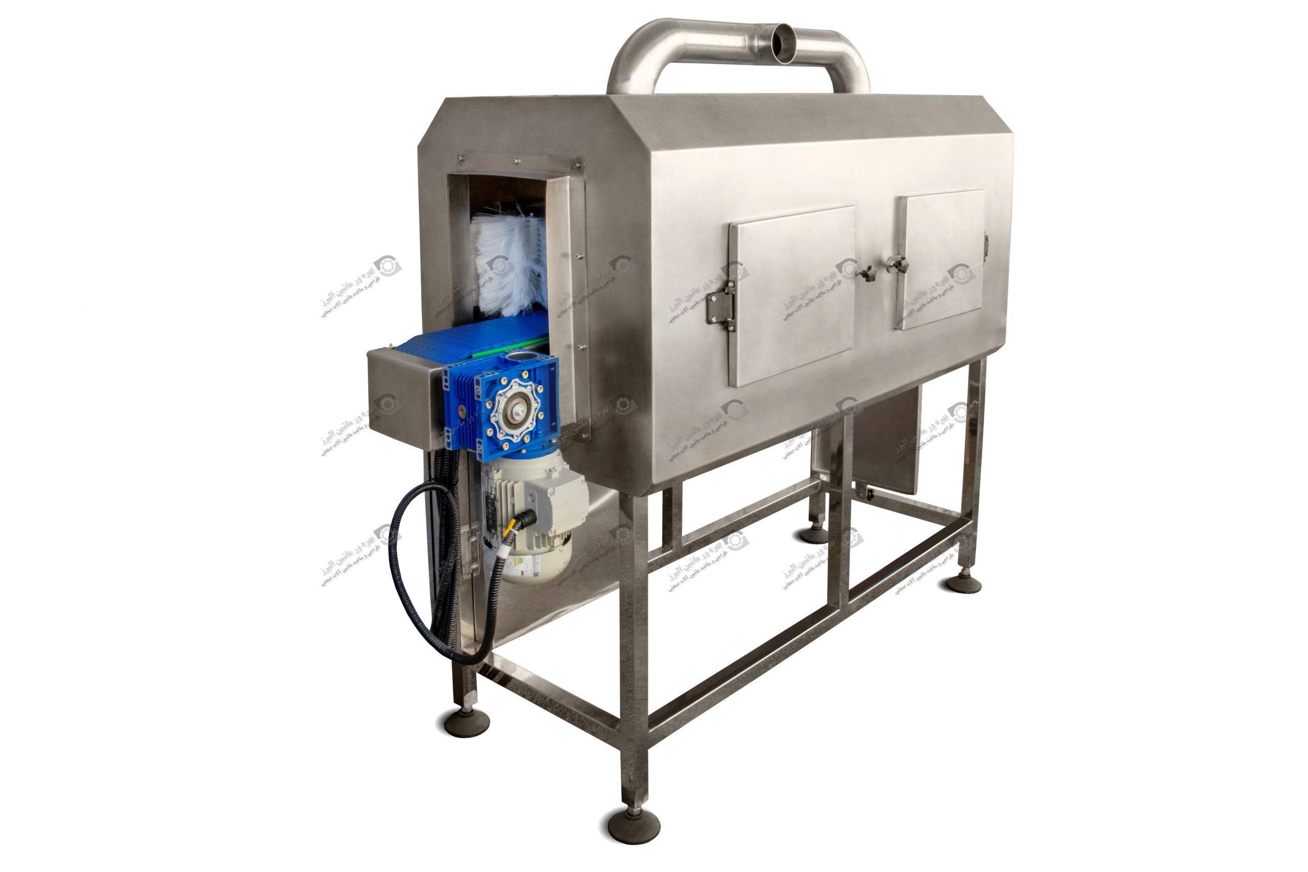 این دستگاه برای نظافت بطری های پر به کار می رود.