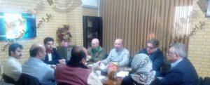 جلسه همکاری با شرکت ایتالیایی
